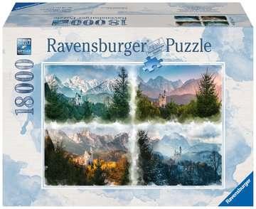 Slot Neuschwanstein in 4 seizoenen Puzzels;Puzzels voor volwassenen - image 1 - Ravensburger