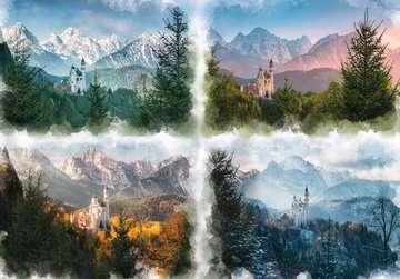 Slot Neuschwanstein in 4 seizoenen Puzzels;Puzzels voor volwassenen - image 3 - Ravensburger