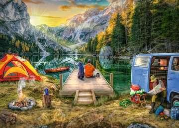 Calm Campsite Jigsaw Puzzles;Adult Puzzles - image 2 - Ravensburger