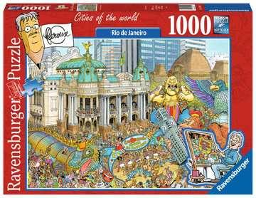 Fleroux - Rio de Janeiro, Carnaval Puzzels;Puzzels voor volwassenen - image 1 - Ravensburger