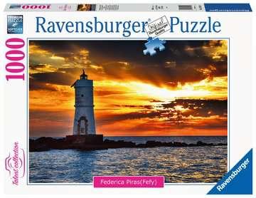 Faro di Mangiabarche Isola di Sant'Antioco, Sardegna Puzzle;Puzzle da Adulti - immagine 1 - Ravensburger