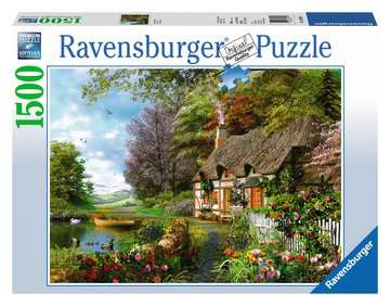 Country Cottage Jigsaw Puzzles;Adult Puzzles - image 1 - Ravensburger