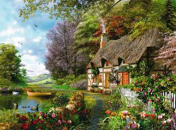 Country Cottage Jigsaw Puzzles;Adult Puzzles - image 2 - Ravensburger