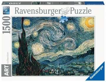 Van Gogh: Notte stellata Puzzle;Puzzle da Adulti - immagine 1 - Ravensburger