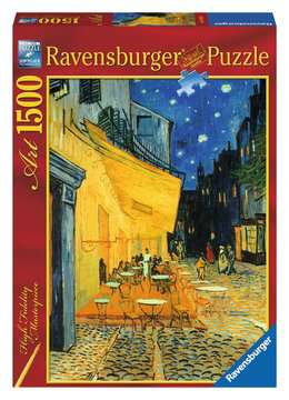 Van Gogh - Café Terrace at Night Jigsaw Puzzles;Adult Puzzles - image 1 - Ravensburger