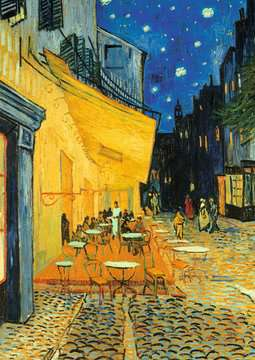 Van Gogh - Café Terrace at Night Jigsaw Puzzles;Adult Puzzles - image 3 - Ravensburger