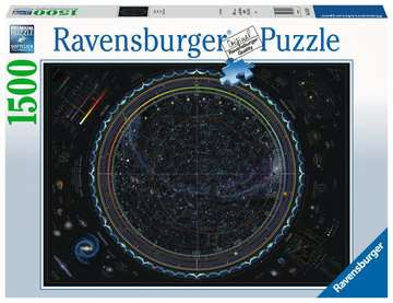 Map of the Universe, 1500pc Puzzles;Adult Puzzles - image 1 - Ravensburger