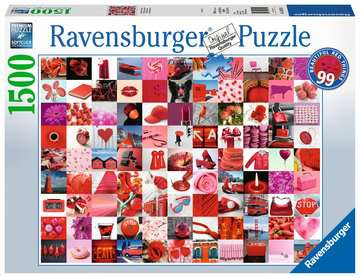 99 Beautiful Red Things Jigsaw Puzzles;Adult Puzzles - image 1 - Ravensburger