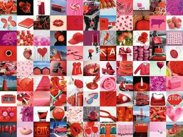 99 beautiful red things Puzzels;Puzzels voor volwassenen - image 2 - Ravensburger