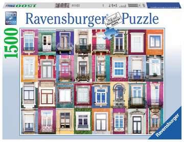 Portuguese Windows Jigsaw Puzzles;Adult Puzzles - image 1 - Ravensburger