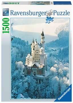 Puzzle 1500 p - Neuschwanstein en hiver Puzzle;Puzzle adulte - Image 1 - Ravensburger