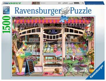 Ice Cream Shop Jigsaw Puzzles;Adult Puzzles - image 1 - Ravensburger