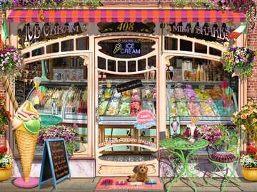 Ice Cream Shop Jigsaw Puzzles;Adult Puzzles - image 2 - Ravensburger