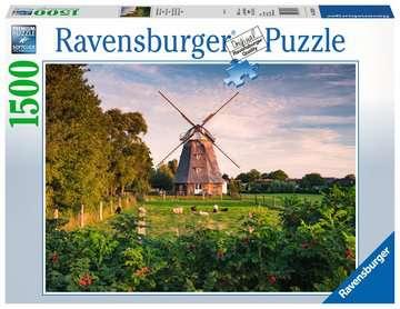 16223 Erwachsenenpuzzle Windmühle an der Ostsee von Ravensburger 1