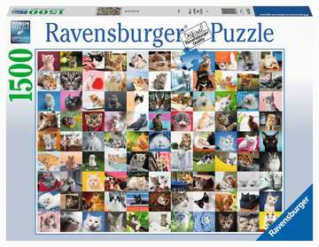 Puzzle 1500 p - 99 chats Puzzle;Puzzle adulte - Image 1 - Ravensburger