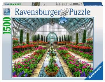 Puzzle 1500 p - Jardin en serre Puzzle;Puzzle adulte - Image 1 - Ravensburger