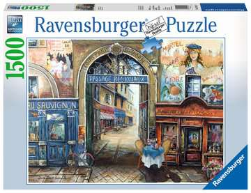 Puzzle 1500 p - Passage à Paris Puzzle;Puzzles adultes - Image 1 - Ravensburger