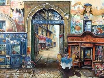 Passage in Paris Puzzle;Erwachsenenpuzzle - Bild 2 - Ravensburger
