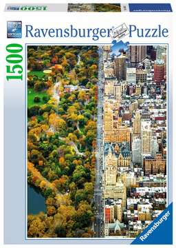 Divided City New York, 1500pc Puzzles;Adult Puzzles - image 1 - Ravensburger