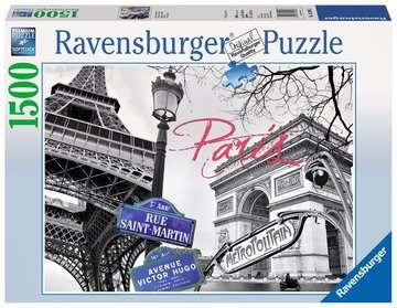 Puzzle 1500 p - My Paris Puzzle;Puzzle adulte - Image 1 - Ravensburger