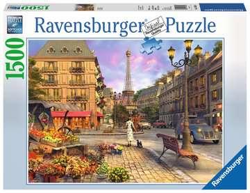 Vintage Paris Puzzle;Puzzle da Adulti - immagine 1 - Ravensburger