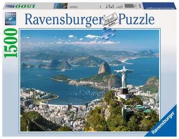 Blick auf Rio Puzzle;Erwachsenenpuzzle - Bild 1 - Ravensburger