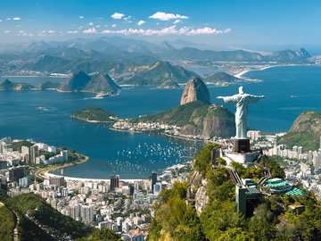 Blick auf Rio Puzzle;Erwachsenenpuzzle - Bild 2 - Ravensburger