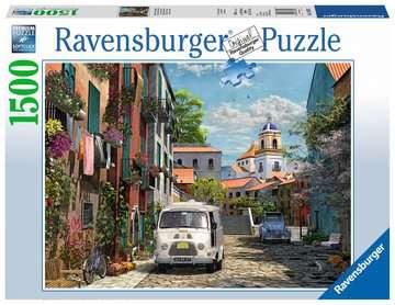 Puzzle 1500 p - Sud de la France idyllique Puzzle;Puzzle adulte - Image 1 - Ravensburger