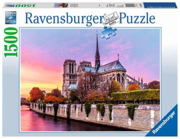 Picturesque Notre Dame Jigsaw Puzzles;Adult Puzzles - image 1 - Ravensburger