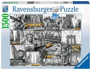 Macchie di colore a New York Puzzle;Puzzle da Adulti - immagine 1 - Ravensburger