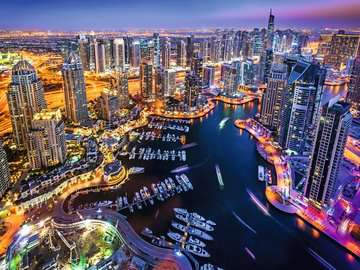 Dubai Marina Puzzle;Puzzles adultes - Image 2 - Ravensburger