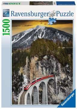 Puzzle 1500 p - Montagne hivernale Puzzle;Puzzle adulte - Image 1 - Ravensburger