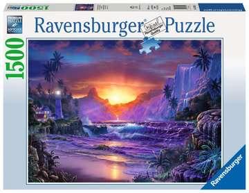 Sonnenaufgang im Paradies Puzzle;Erwachsenenpuzzle - Bild 1 - Ravensburger