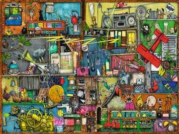 Das Krachmacher Regal Puzzle;Erwachsenenpuzzle - Bild 2 - Ravensburger