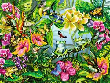 Find the Frogs Jigsaw Puzzles;Adult Puzzles - image 2 - Ravensburger