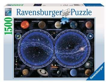 Puzzle 1500 p - Planisphère céleste Puzzle;Puzzle adulte - Image 1 - Ravensburger
