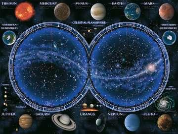 Puzzle 1500 p - Planisphère céleste Puzzle;Puzzle adulte - Image 2 - Ravensburger