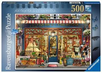 Antiques & Curiosities, 500pc Puslespil;Puslespil for voksne - Billede 1 - Ravensburger