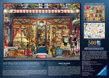 Antiques & Curiosities, 500pc Puslespil;Puslespil for voksne - Billede 3 - Ravensburger