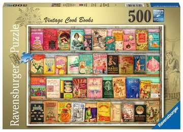 Vintage kookboeken Puzzels;Puzzels voor volwassenen - image 1 - Ravensburger