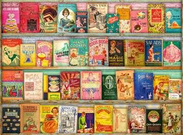 Vintage kookboeken Puzzels;Puzzels voor volwassenen - image 2 - Ravensburger