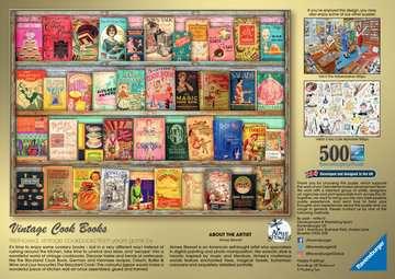 Vintage kookboeken Puzzels;Puzzels voor volwassenen - image 3 - Ravensburger