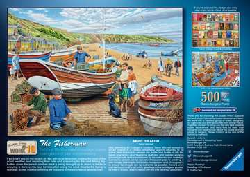 Happy Days at Work, The Fisherman, 500pc Puzzles;Adult Puzzles - image 3 - Ravensburger