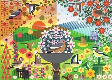 I Like Birds - Birdie Seasons, 1000pc Puzzles;Adult Puzzles - image 2 - Ravensburger