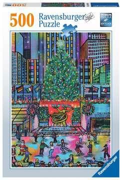 Rockefeller Christmas     500p Puslespil;Puslespil for voksne - Billede 1 - Ravensburger