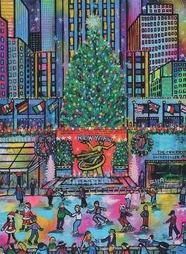 Rockefeller Christmas     500p Puslespil;Puslespil for voksne - Billede 2 - Ravensburger