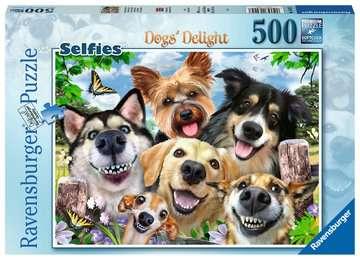 Vrolijke honden Puzzels;Puzzels voor volwassenen - image 1 - Ravensburger