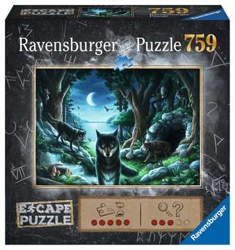 ESCAPE 7 Curse of the Wolves Puzzle;Puzzles adultes - Image 1 - Ravensburger