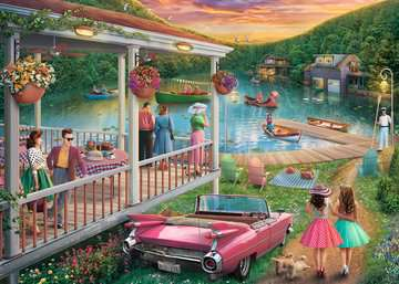 Summer at the Lake Jigsaw Puzzles;Adult Puzzles - image 2 - Ravensburger