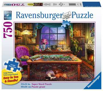 Puzzler s Place Jigsaw Puzzles;Adult Puzzles - image 1 - Ravensburger